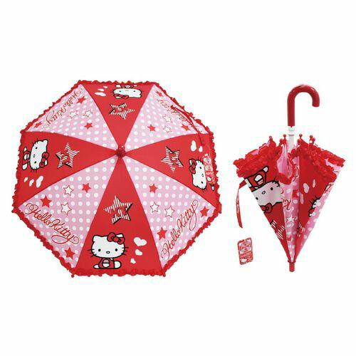★衛立兒生活館★Hello Kitty 小童傘(雨傘/兒童直傘)446-65329