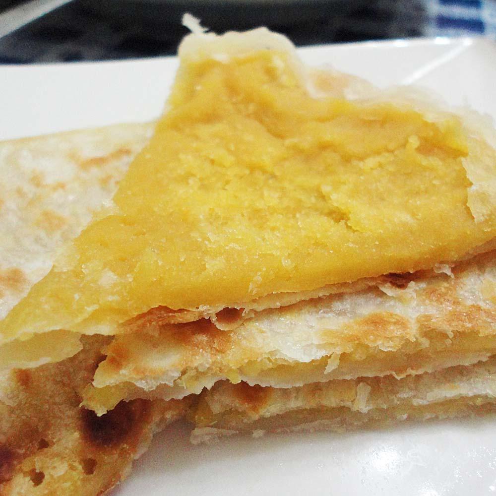 (蔥阿伯)地瓜酥餅(2片)