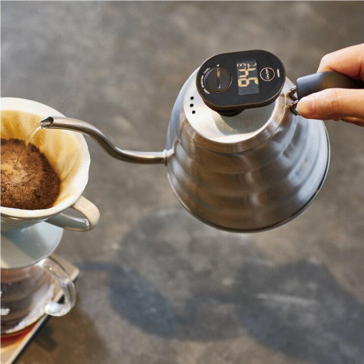 咖啡電子溫度計手沖壺組/VTM-1B + (VKB-100HSV/VKB-120HSV 2擇1) 2