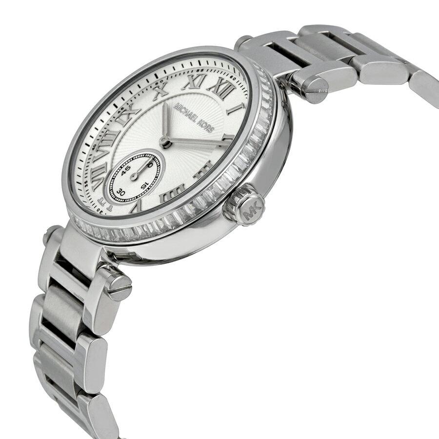 美國Outlet正品代購 MichaelKors MK 復古羅馬數字水鑽  陶瓷  三環 手錶 腕錶 MK5866 5