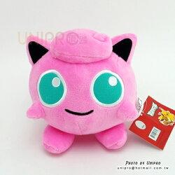 【UNIPRO】神奇寶貝 XY 胖丁 Jigglypuff 15公分 絨毛娃娃 玩偶 吸盤吊飾 禮物 正版授權 寶可夢 Pokemon Go 妖精系精靈