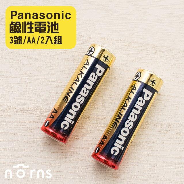 NORNS 原廠【Panasonic 鹼性電池3號AA (2入組)】適用於mini7s mini8 wide寬幅機等