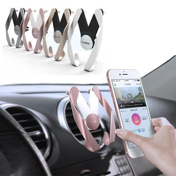 車用出風口手機支架 手機架 M型 三星 HTC SONY Iphone【巴布百貨】