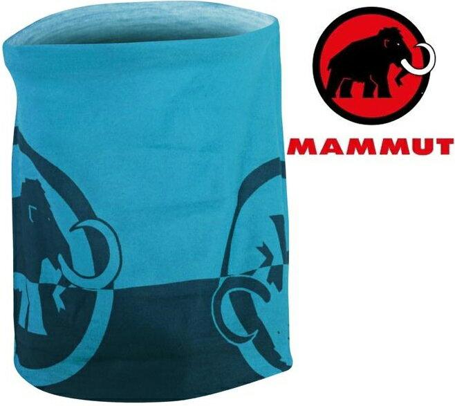 Mammut 長毛象 透氣排汗頭巾 Zion 1090-05000 5870獵戶藍