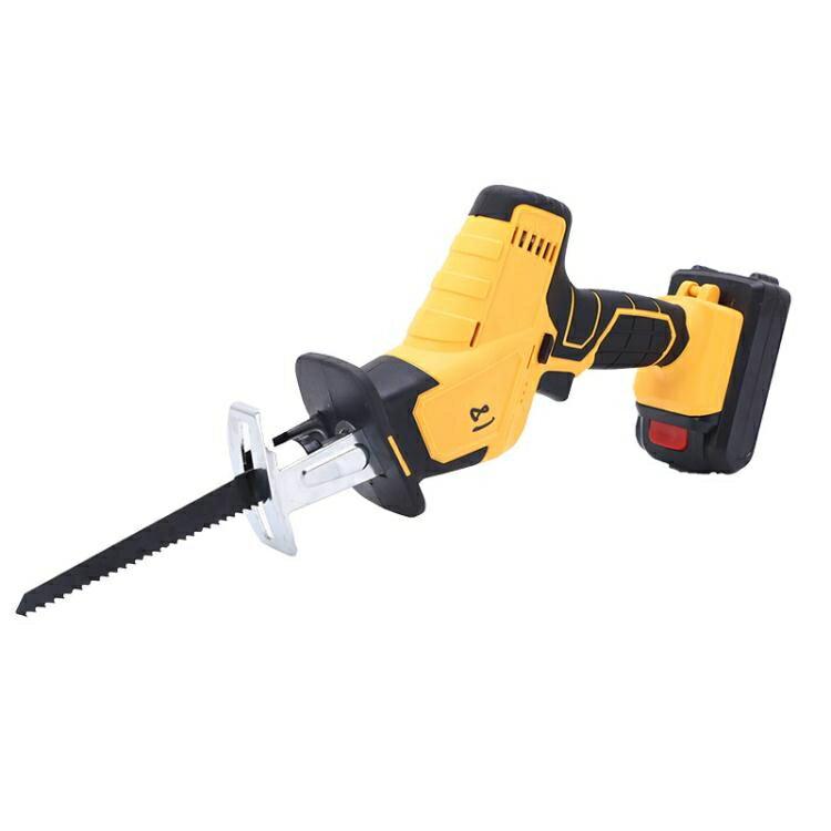110V現貨 優力能電充電式往復鋸電動馬刀鋸家用小型迷你電鋸戶外手提伐木鋸 全館免運