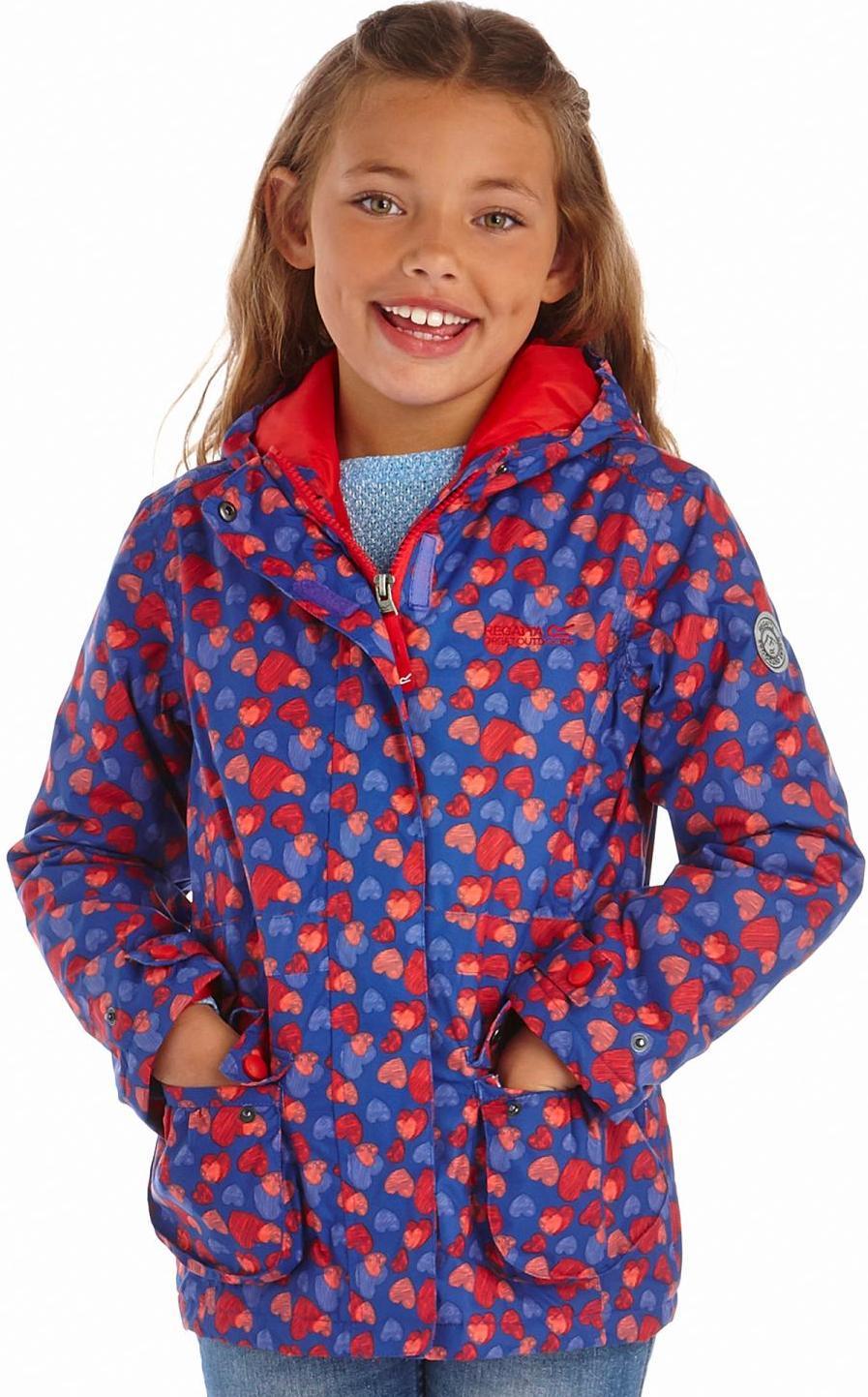 Regatta 兒童款雪衣/化纖外套/防水外套/滑雪外套 Bouncy 童款 RKP138 19E心紫