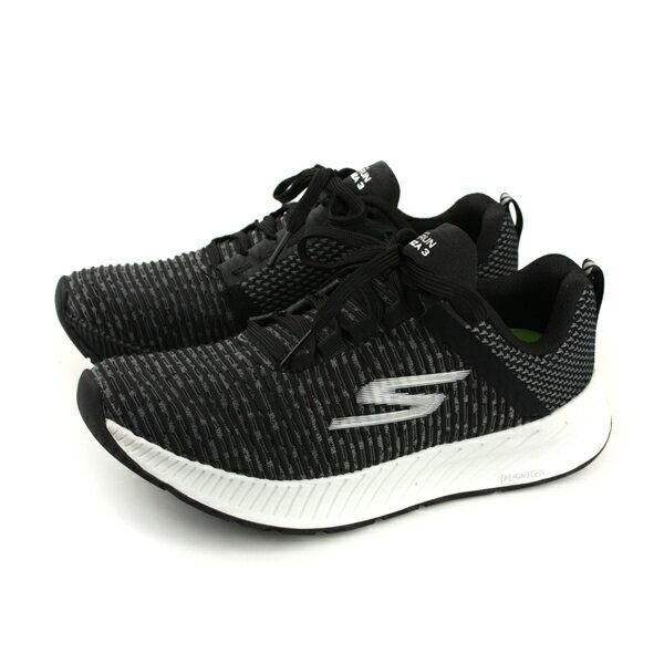 SKECHERSGORUNFORZA3運動鞋灰黑色女鞋15206BKWno846