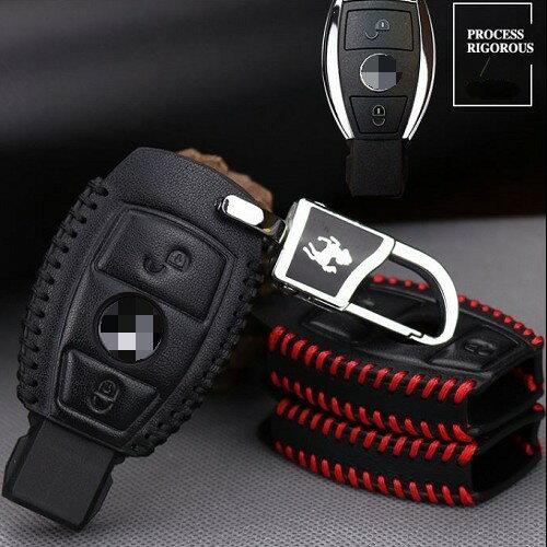 BENZ 鑰匙套 鑰匙包 鑰匙皮套 W203 W204 W202 AMG W210 W211 沂軒精品 A0333
