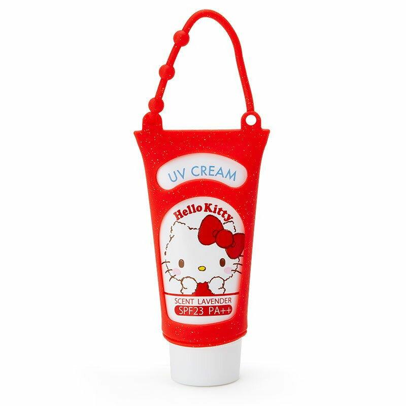 Hello Kitty 防曬乳 日本製正版品 UV 可掛在包包上喔