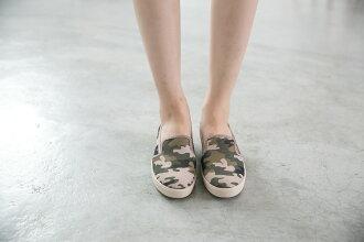 Aimez La Vie 超輕氣墊鞋 韓系迷彩真皮內裡樂福休閒鞋