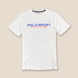 美國百分百【Ralph Lauren】T恤 RL 短袖 T-shirt Polo sport 白色 XS號 美國青年版  H953