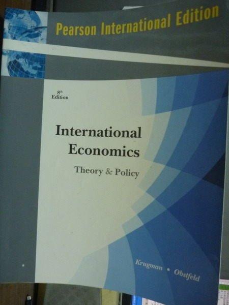 ~書寶 書T3/大學商學_QNW~International Economics_Krug