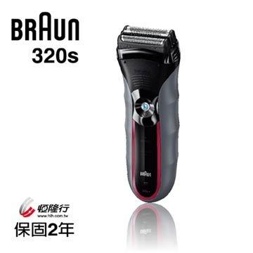德國 百靈 BRAUN Series 3三鋒系列 浮動水洗三刀頭電鬍刀 320s-5