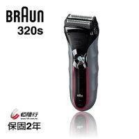 父親節禮物推薦德國 百靈 BRAUN Series 3三鋒系列 浮動水洗三刀頭電鬍刀 320s-5