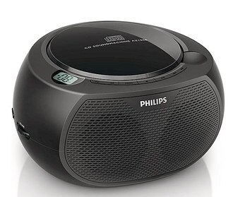 PHILIPS 飛利浦 CD播放機(黑色) AZ100B / AZ100