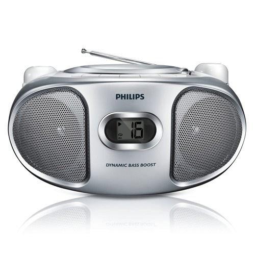 PHILIPS 飛利浦 CD手提音響(銀色) AZ105S / AZ-105S    **可刷卡!免運費**