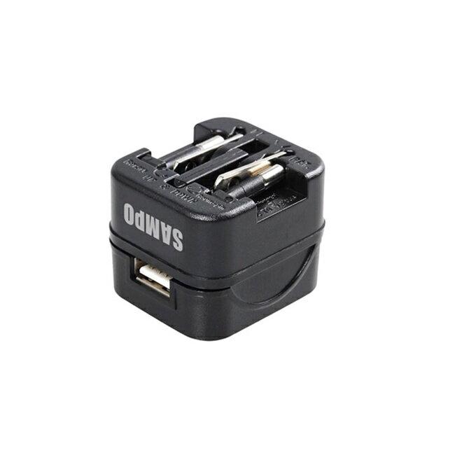"""SAMPO聲寶 USB萬國充電器轉接頭-黑色 EP-UB0BU1  """" title=""""    SAMPO聲寶 USB萬國充電器轉接頭-黑色 EP-UB0BU1  """"></a></p> <td> <td><a href="""