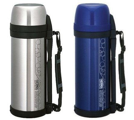 ◤贈100元7-11禮品卷◢THERMOS膳魔師不鏽鋼真空冰熱保溫瓶FDH-2005燜燒罐藍色不鏽鋼色