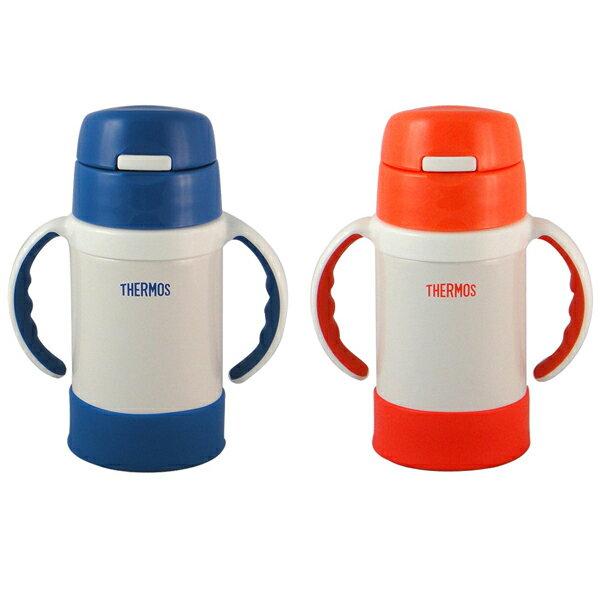 THERMOS 膳魔師 280ml 不鏽鋼幼兒學習真空保溫杯瓶 FEC-280