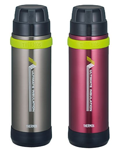 THERMOS 膳魔師登山健行專用超輕真空保溫瓶 FEK-500 黑灰色、暗紅色 **可刷卡!免運費**