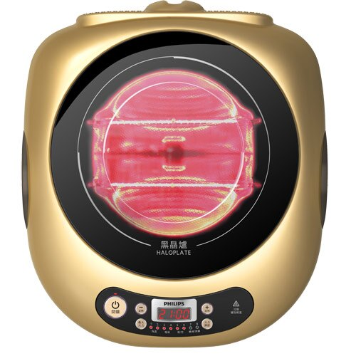 ◤隨貨附贈專用烤盤◢ PHILIPS 飛利浦 頂級萬用黑晶爐 HD4990 / HD-4990
