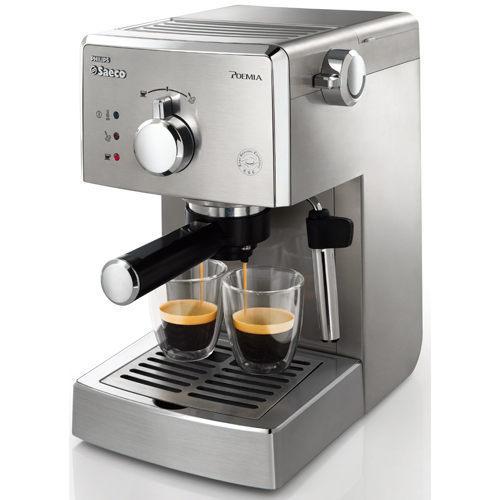 ◤贈7-11禮卷◢ PHILIPS 飛利浦Saeco POEMIA家用半自動義式咖啡機 HD8327