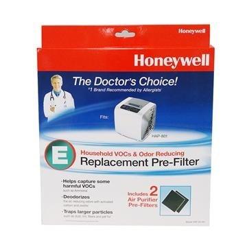 Honeywell 空氣清靜機原廠CZ除臭濾網 HRF-E2-AP (一盒2入適用於HAP-801APTW)