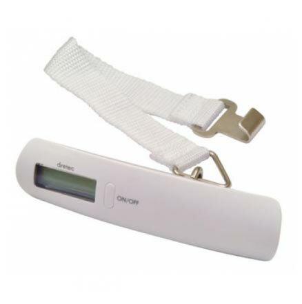 日本 DRETEC 多利科 準寶行李秤 LS-101WT 白色