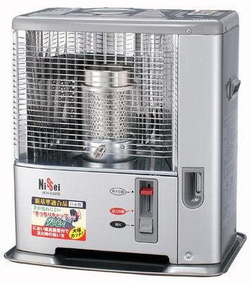 日本 Nissei 7-10坪 經典煤油暖爐 NCH-S261RD **六期零利率**