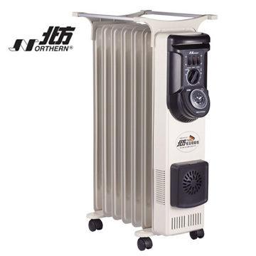 北方 NORTHERN 葉片式電暖器7葉片5段式電暖爐 NR-07ZL / NP-07ZL