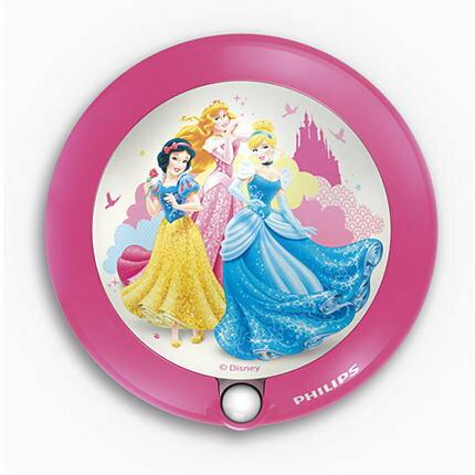 PHILIPS 飛利浦 71765 Disney Princess pink 小夜燈 迪士尼公主