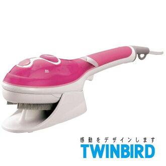 日本 TWINBIRD 手持式蒸氣熨斗(粉紅限定版) SA-4084TW