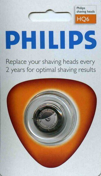 PHILIPS 飛利浦刮鬍刀專用刀片 HQ6