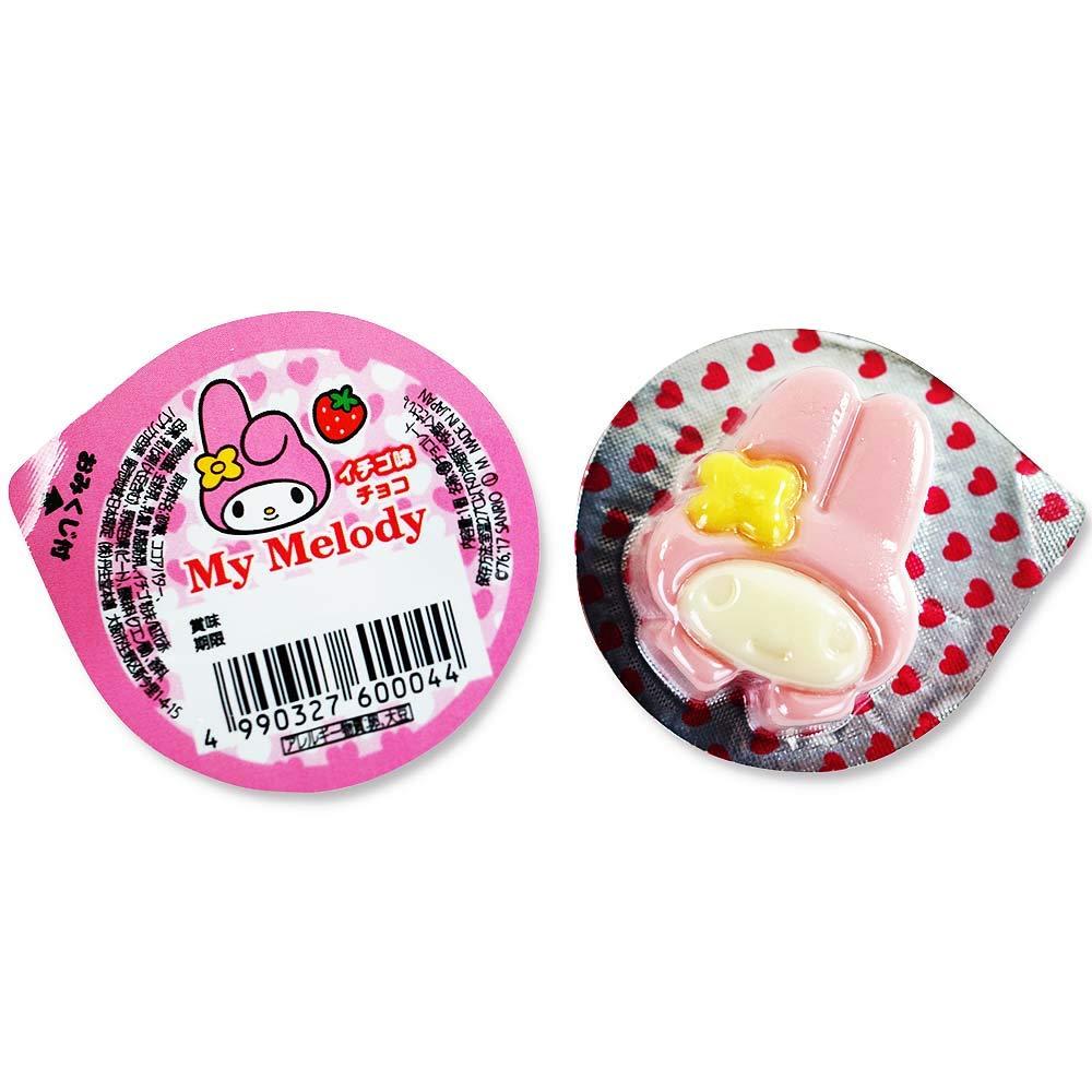 【丹生堂本舖】Sanrio三麗歐 Meoldy 美樂蒂造型占卜巧克力盒裝50個入 300g 草莓口味 日本進口美食 3.18-4 / 7店休 暫停出貨 3
