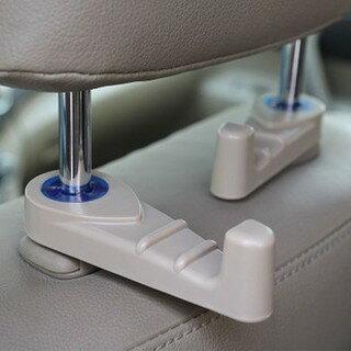 新款車載掛勾二代 後座掛勾 隱藏式掛勾 超強承重10KG 可旋轉車用置物勾 安全無慮 頭枕是掛勾 後座掛勾