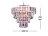 鍍鉻多層次燻黑壓克力板吊燈-BNL00043 1