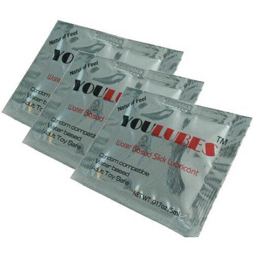 [漫朵拉情趣用品]英國YouCups *隨身包水溶性潤滑液1入 5ml DM-9162502