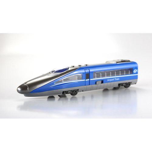 小小家 小小鐵道迷磨輪聲光高速火車-藍色★衛立兒生活館★