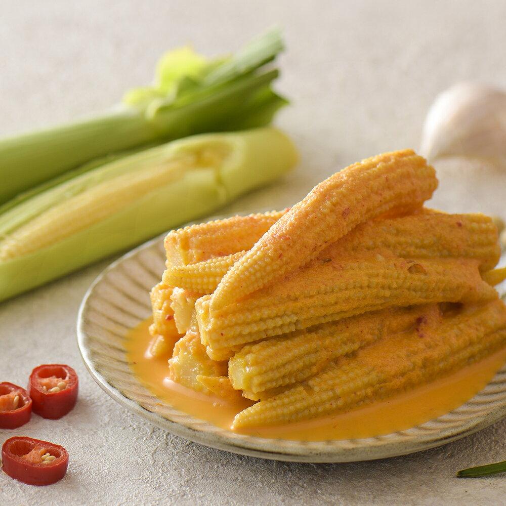 【季節限定】 黃金玉米筍 (420公克/瓶) 協發行泡菜