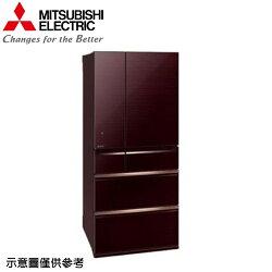 【MITSUBISHI 三菱】705公升日本原裝變頻六門冰箱MR-WX71Y-BR【三井3C】