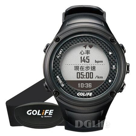 《GOLiFE》GoWatch X-PRO 全方位戶外 GPS 智慧運動錶 黑色