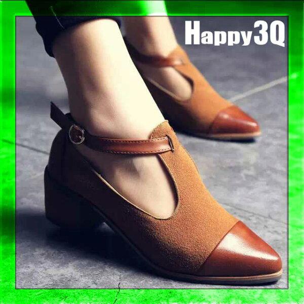 輕鬆好搭顯小復古經典永恆時尚摩登英倫磨砂麂皮鞋-黑/棕35-39【AAA0653】