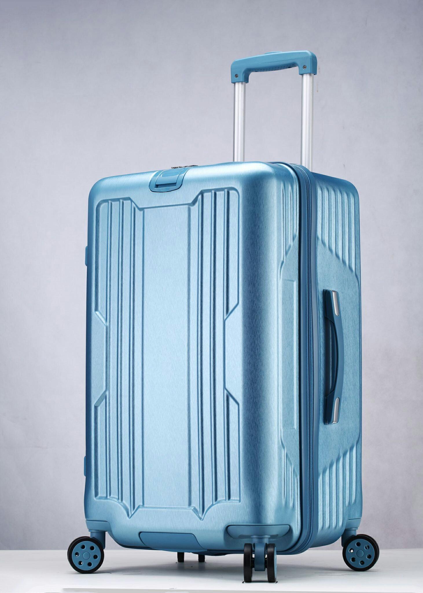 運動款 拉鍊 胖胖箱 旅行箱 20吋25吋29吋 行李箱 -鐵灰色 / 深紫色 / 玫瑰金-現貨當日出貨-免運台南可預約自取 1