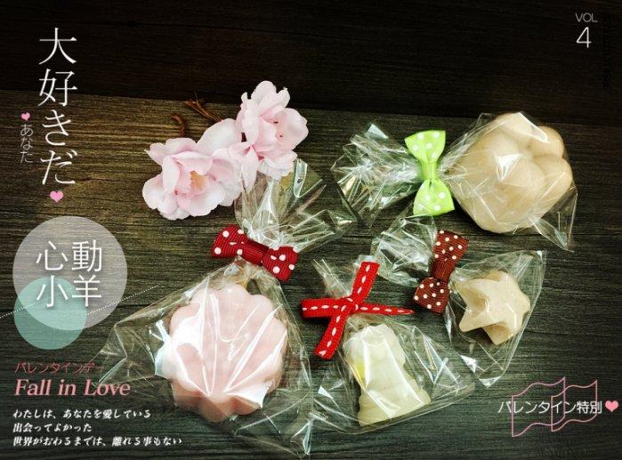 心動小羊^^可愛緞帶蝴蝶結10入適用於手工皂、巧克力、糖果送禮專用