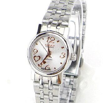 《好時光》OMAX 歐瑪士 心動時刻3.6.9.12 水鑽時刻時尚女錶-銀白-水晶鏡面