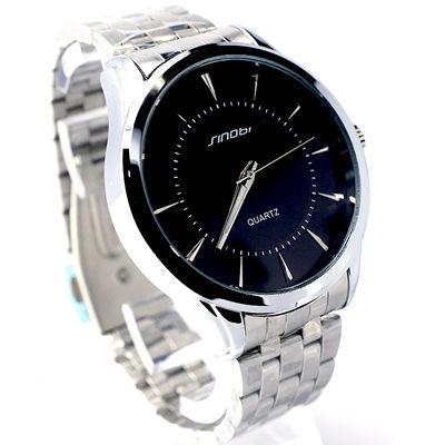 ~好時光~sinobi 極簡品味 立體感 時刻 大錶面 腕錶 錶 型男錶 ~  好康折扣