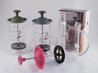 《愛鴨咖啡》HARIO CPSS-2 法式濾壓壺 240ml 奶泡器