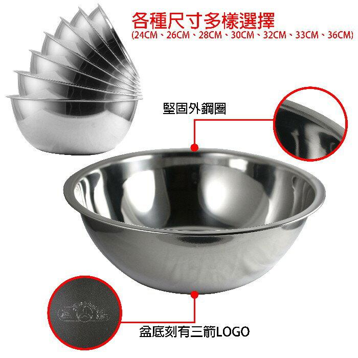 三箭 26CM不鏽鋼打蛋盆 TS-626-3 | PQ Shop