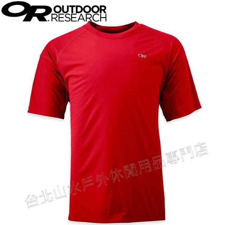 Outdoor Research 排汗衣/運動上衣/快乾圓領短袖 ECHO TEE 男款 OR242836 0444 紅色