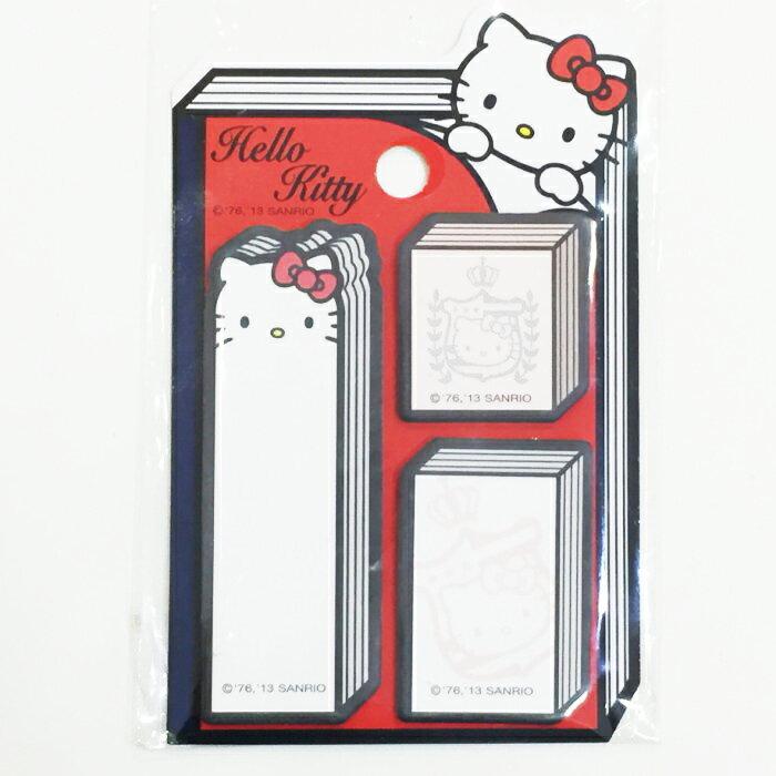 Hello Kitty 三麗鷗 便利貼 便條紙 書籍 文具   ~ JustGirl ~